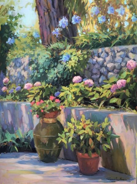 Flowers at Villa Cimbrone