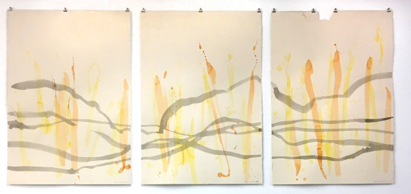 Broken Soundlines triptyche