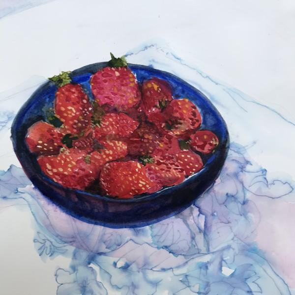 fresh strawberries 956