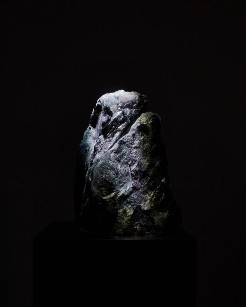 Untitled (Black Murano Glass Mountain 1) #1 of 2
