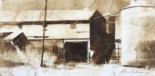 1940s COTTON GIN, EOLA TX - STUDY