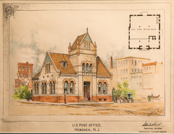 U.S. Post Office, Hoboken, New Jersey