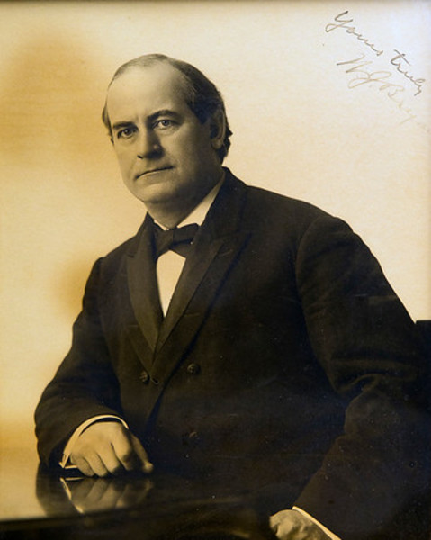 Untitled (Autographed Photograph of William Jennings Bryan)