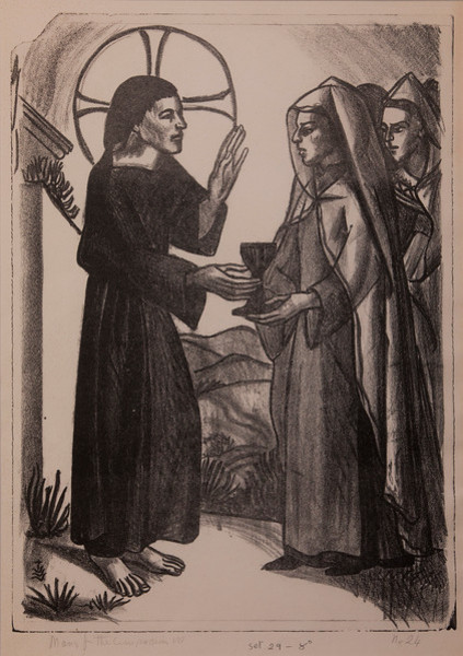 Stations of the Cross, No. VIII Jesus Meets the Weeping Women