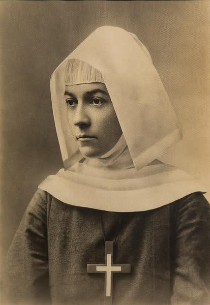 Untitled (Sister Amy Margaret Founder of Christ Hospital, School of Nursing, July 20, 1889)