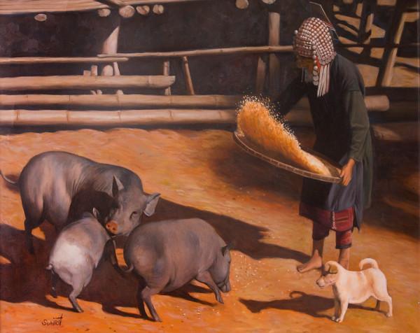 Untitled (Thai Pig Farmer)