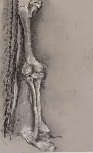 Leg Extended Back Charcoal