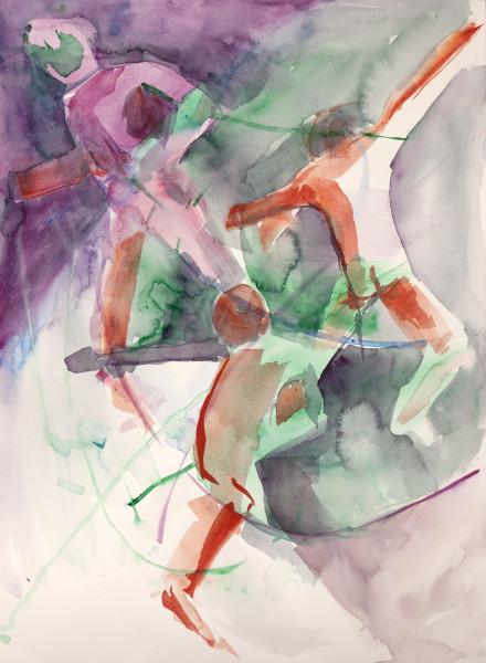 Triple_Dance_in_Circles._watercolor.4.19