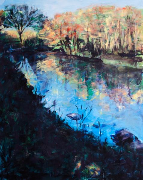 Pond O'Central Park 2