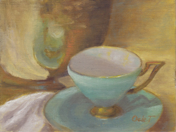 Tiffany Blue Tea Cup