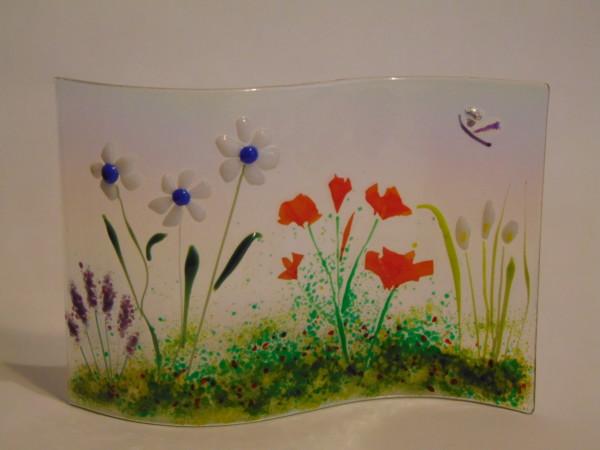 Garden Curve-Daisies, Poppies, Calla