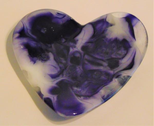 Heart Dish-Purples