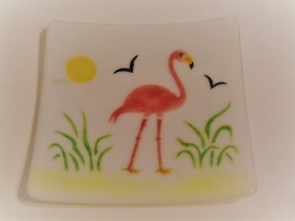 Flamingo Sushi Style Dish