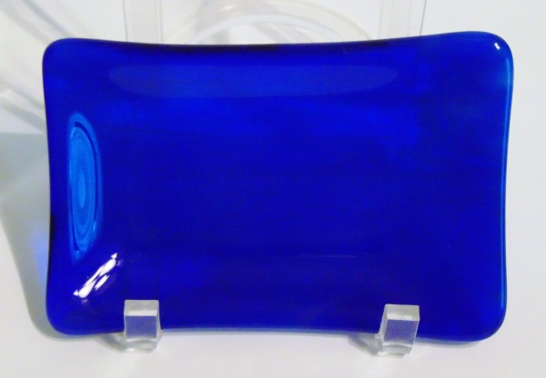Soap Dish-Cobalt Blue