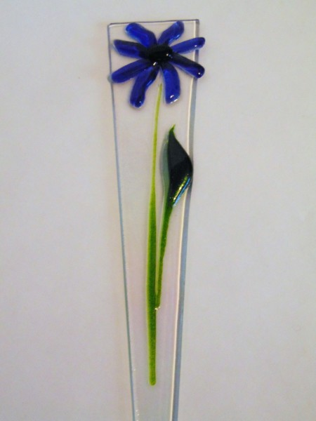 Plant Stake-Blue Daisy