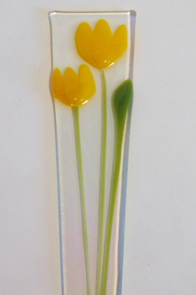 Plant stake-Yellow Tulips
