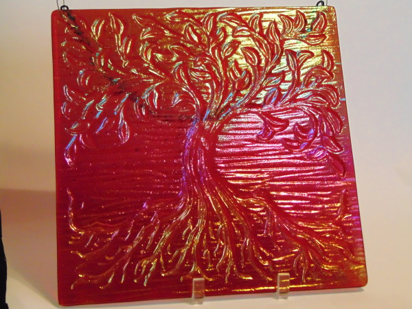 Garden Hanger-Tree of Life, Small-Red Irid