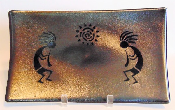 Kokopelli Serving Plate