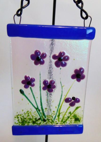 Small Garden Hanger-Purple Flowers