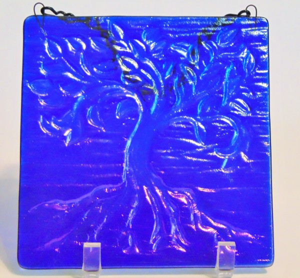 Garden Hanger-Tree of Life, Small-Blue Irid