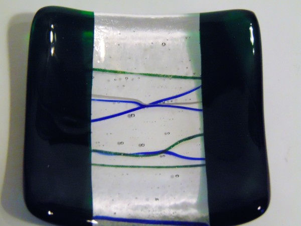 Small dish-Green with stringer