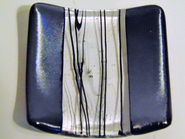Small Dish-Irid with Black Stringer