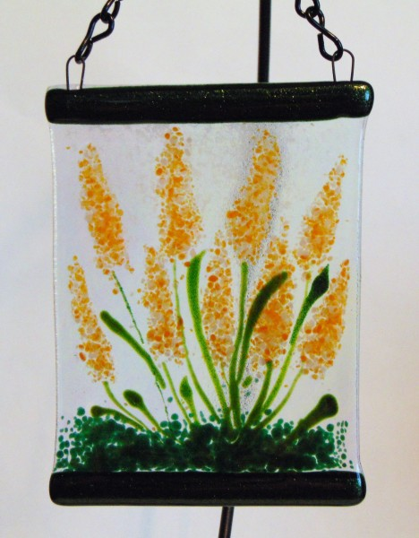 Garden Hanger-Orange/White Spires