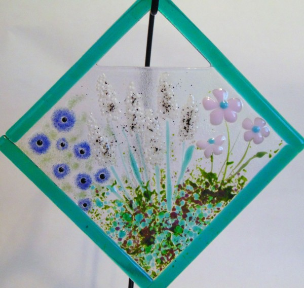 Garden Hanger-Diagonal-Emerald frame