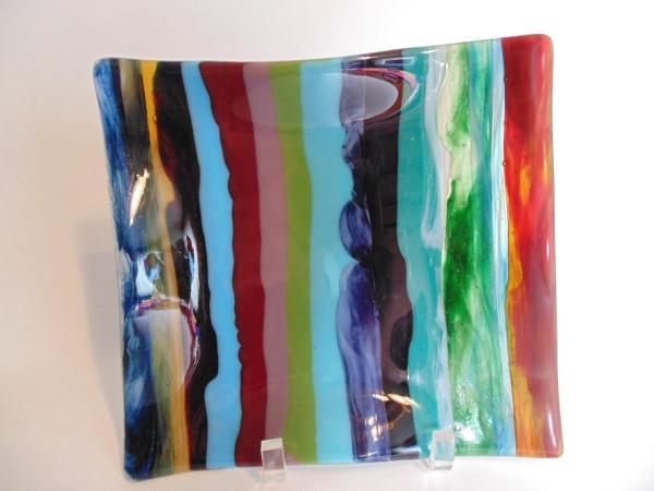 Ribbon dish-Multi-Colored
