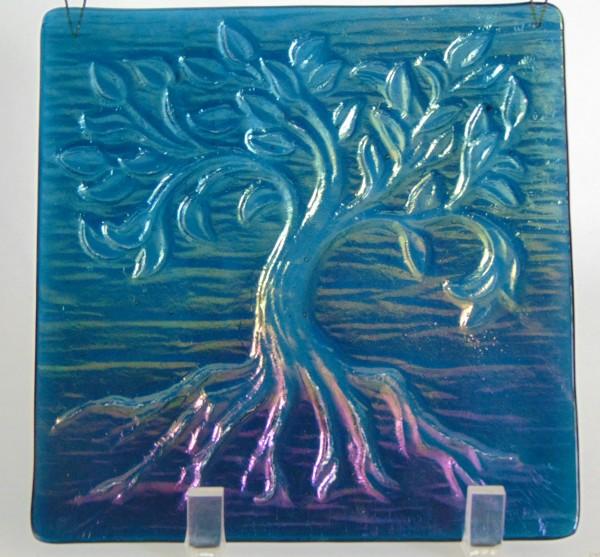 Garden Hanger-Small Tree of Life, Aquamarine