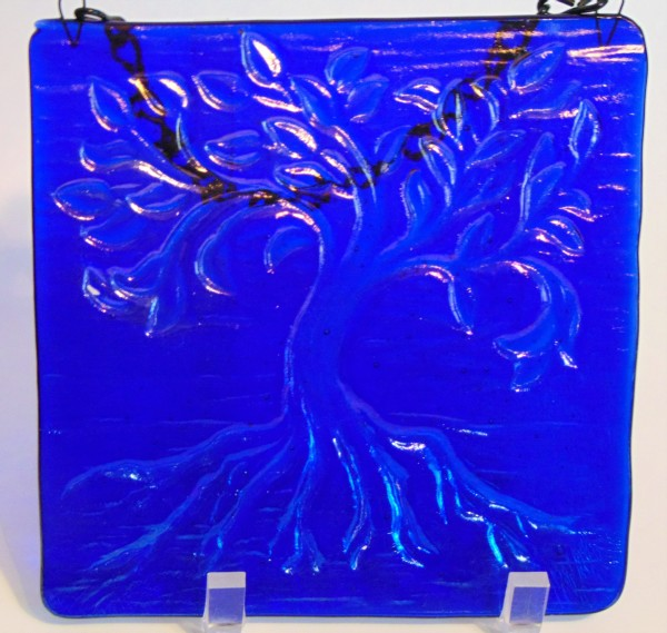 Tree of Life, Small-Cobalt Blue Irid