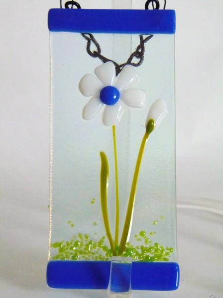 Small Garden Hanger-White Daisy