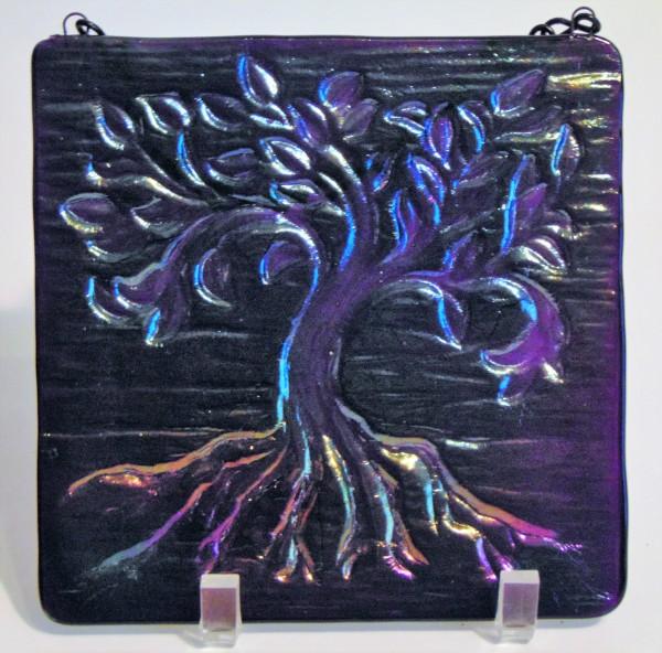 Garden Hanger-Tree of Life, Small-Purple, Irid