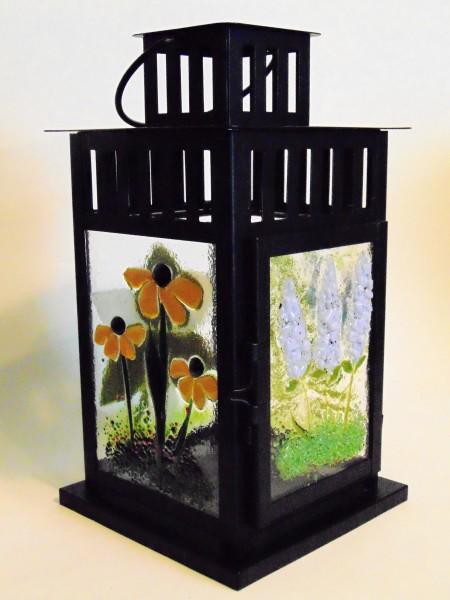Lantern-Mission Style with Botanical Panels