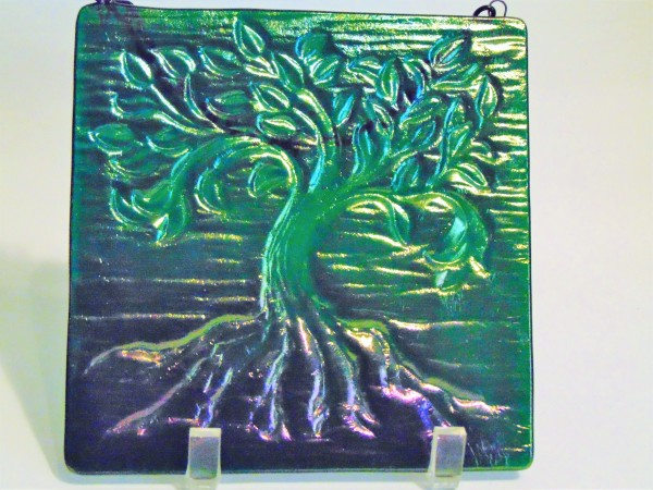 Tree of Life, Small-Emerald Green, Irid