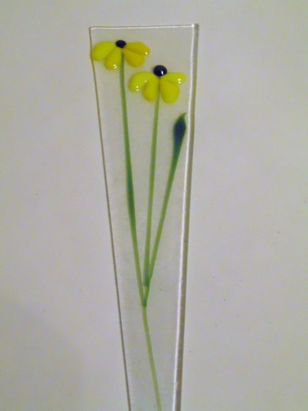 Plant Stake-Double Daisies