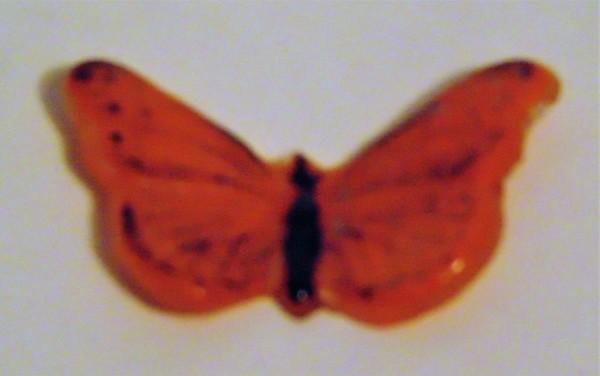 Butterfly-Orange/Black