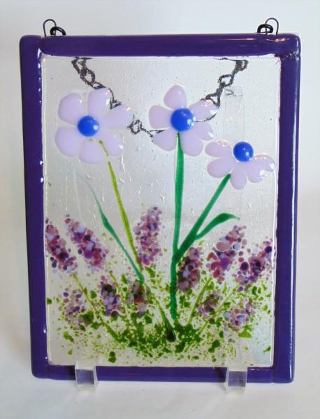 Garden Hanger-Daisies with lavender