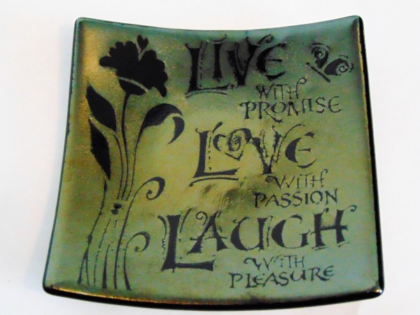 Live With Promise Plate