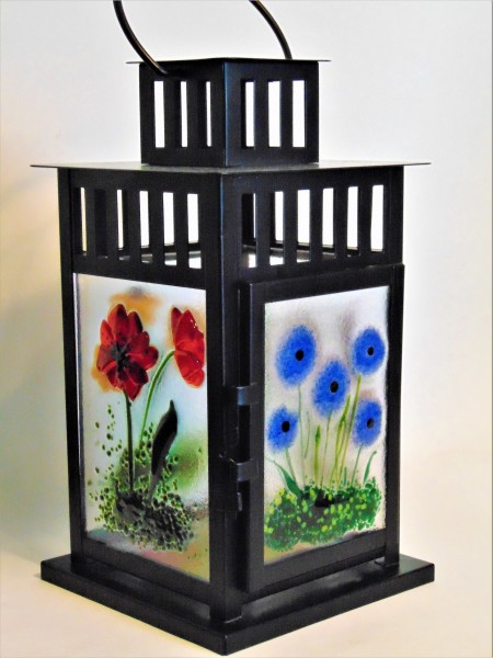 Lantern-Mission Style with Botanical Panels