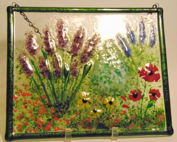 Garden Hanger-Garden with Lavender, Poppies, Daisies