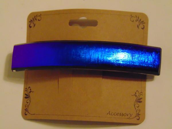 Barrette-Blue/Purple Dichroic