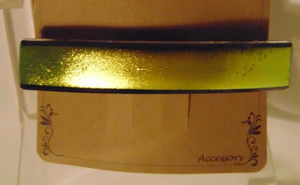 Barrette-Gold Dichroic, uncapped