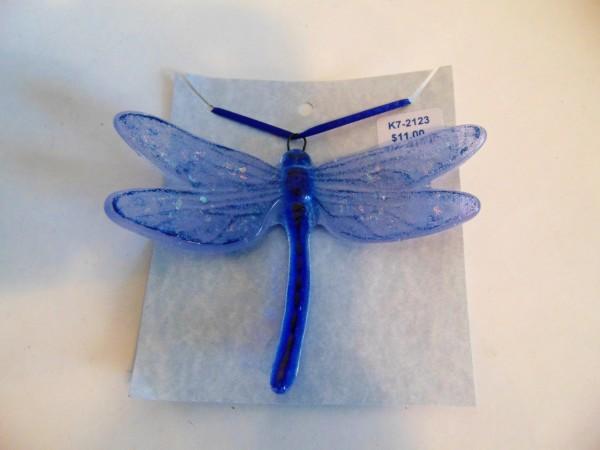 Dragonfly Hanger, Large--Blues
