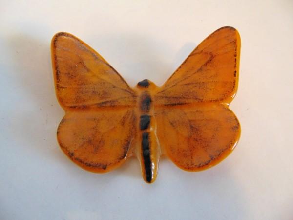 Butterfly, Large-Golden Orange