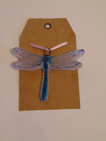 Dragonfly Hanger, Small-Purple/Blue