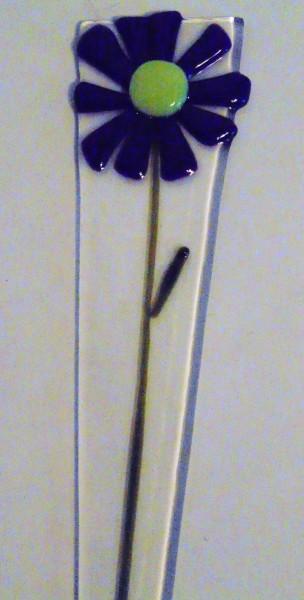Plant Stake-Purple Daisy