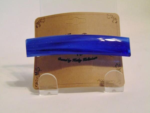 Barrette-Blue Streaky