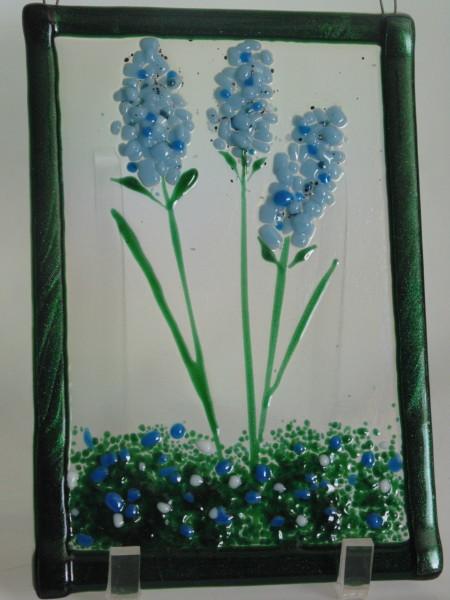 Garden Hanger-Blue & White Delphiniums