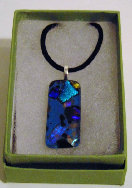 Necklace-Dichroic in blues